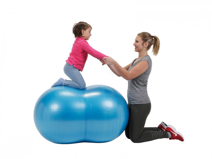 Minge alună fizioterapeutică Physio roșie-85 3