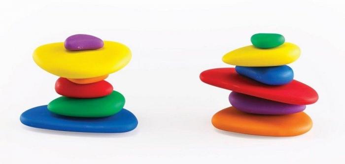 Pietre CURCUBEU, set de 36, multicolor 3