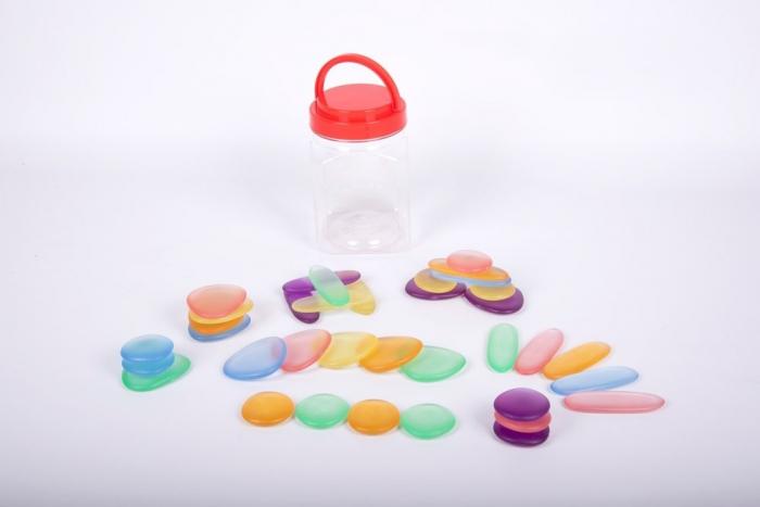 Pietre transparente, Edx Education, set de 36, multicolor 0