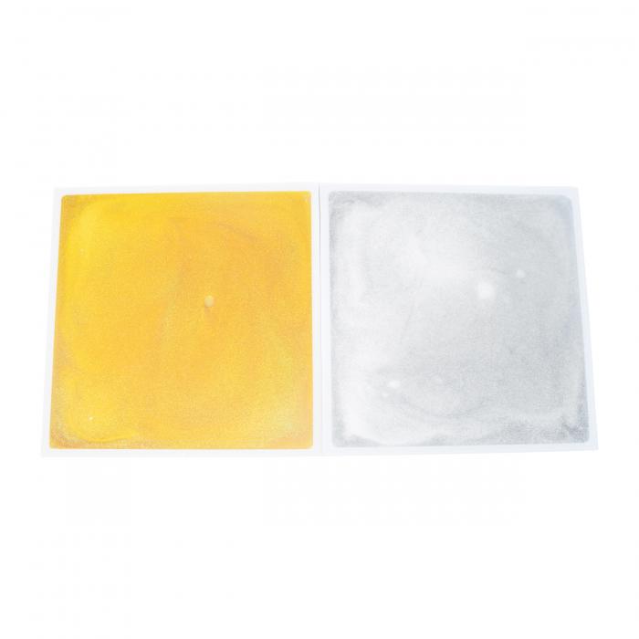 Placă senzorială cu gel - auriu [1]