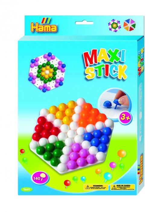 Planseta HEXAGON cu 140 tepuse ciuperci MAXI STICK in cutie de cadou 0