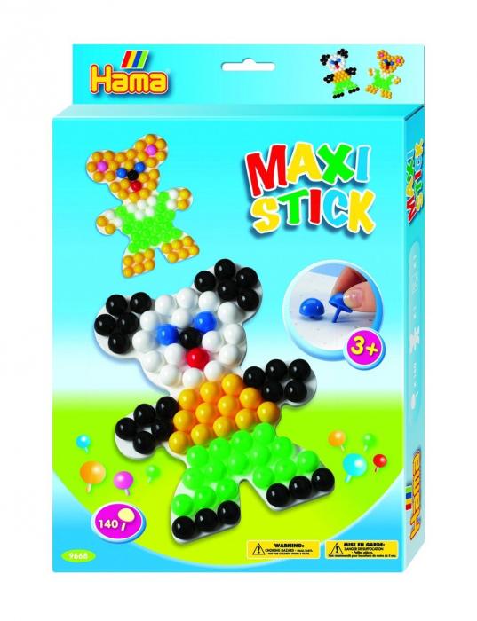 Planseta URSULET cu 140 tepuse ciuperci MAXI STICK in cutie de cadou 0
