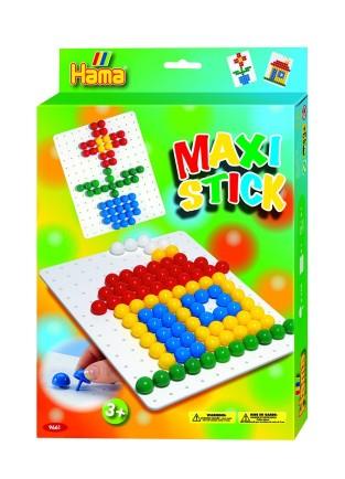 Planseta PATRAT cu 140 tepuse ciuperci MAXI STICK in cutie de cadou 0