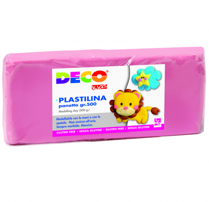 Plastilină 500 g roz [0]