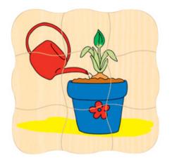 Puzzle de creștere FLOARE 3