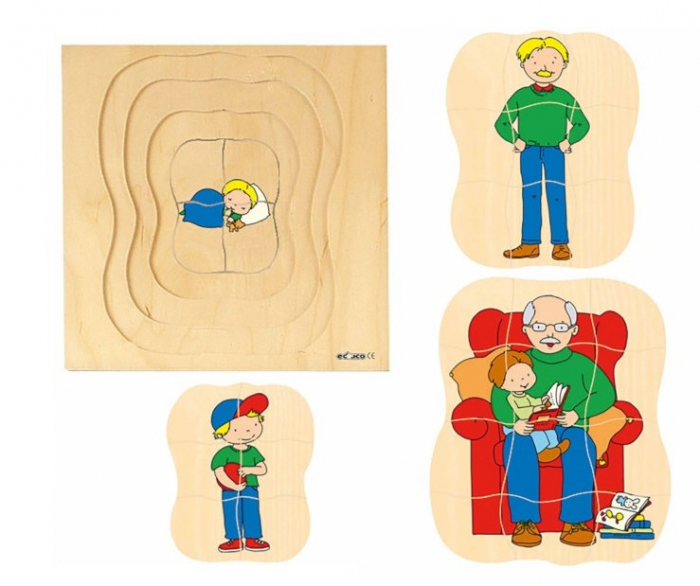 Puzzle de dezvoltare bunicul 1
