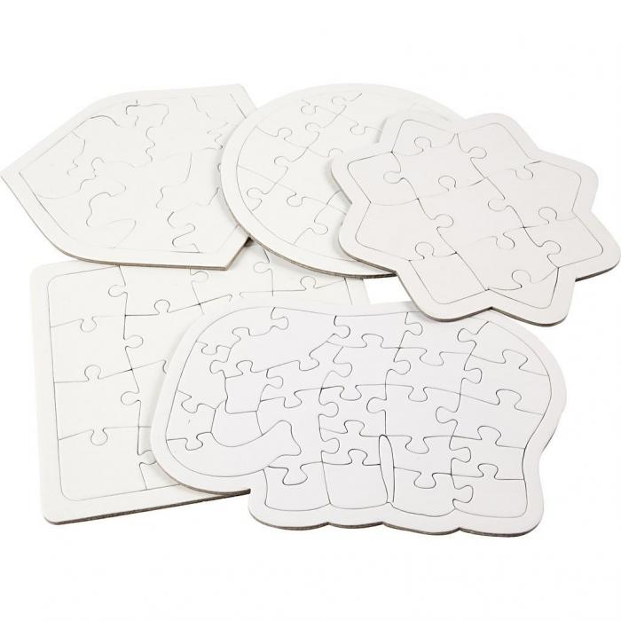 Puzzle gol forme diferite 0