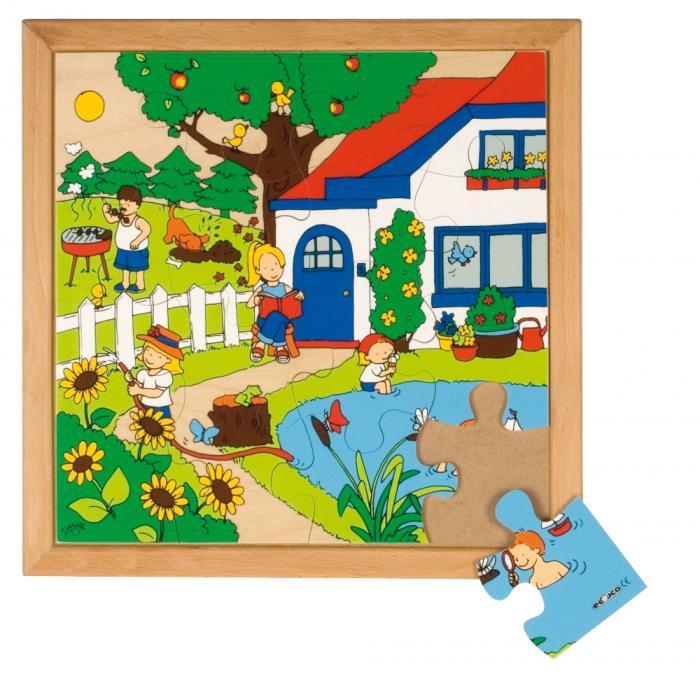 Puzzle lemn vara, Educo 0