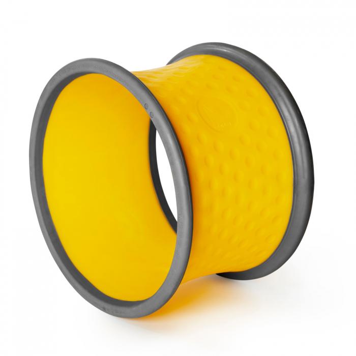 Roată galbenă mică de rostogolire 0