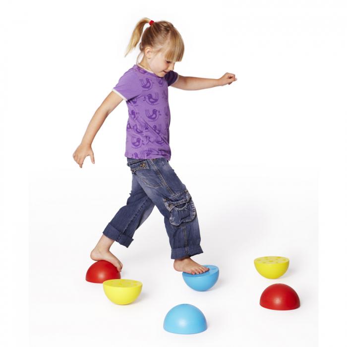 Semisfere de echilibru set de 6 bucăți 1