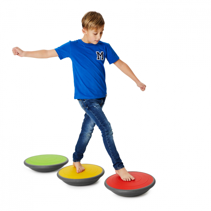 Set de 3 balansoare cu pernă de aer 1