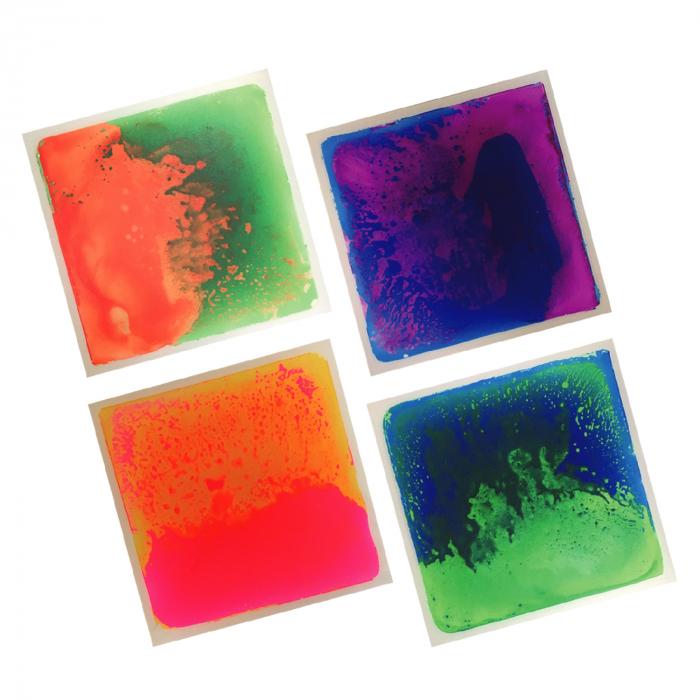 Set de 4 plăci senzoriale cu gel - UV [2]