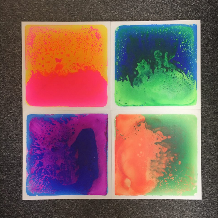Set de 4 plăci senzoriale cu gel - UV [3]