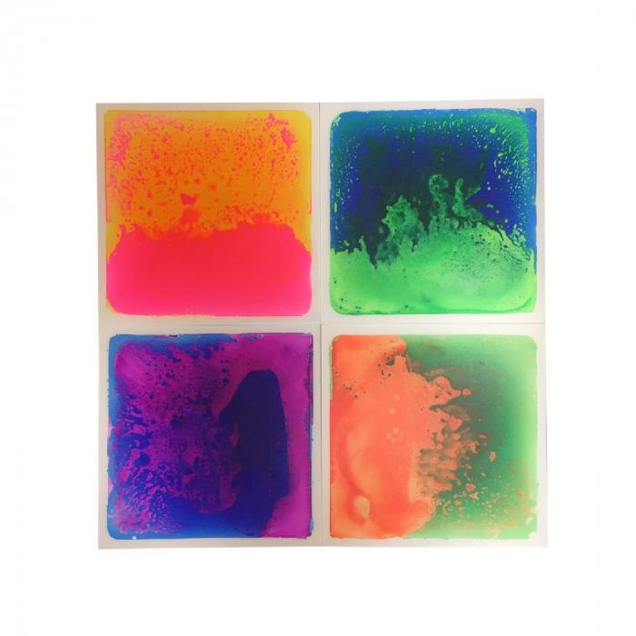Set de 4 plăci senzoriale cu gel - UV [0]