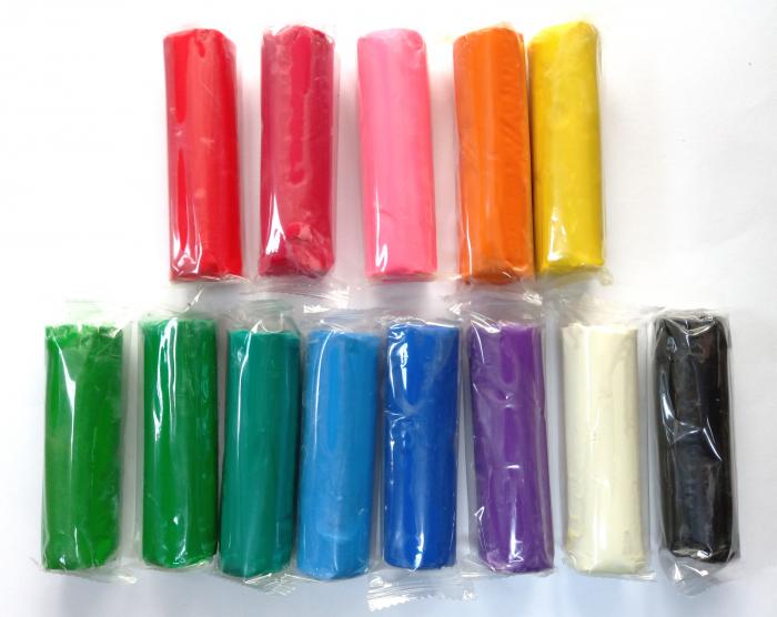 Set plastilină 13 culori în găleată [2]