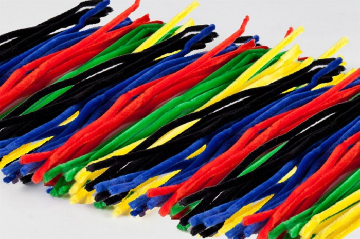 Sârmă plușată culorile de bază 0