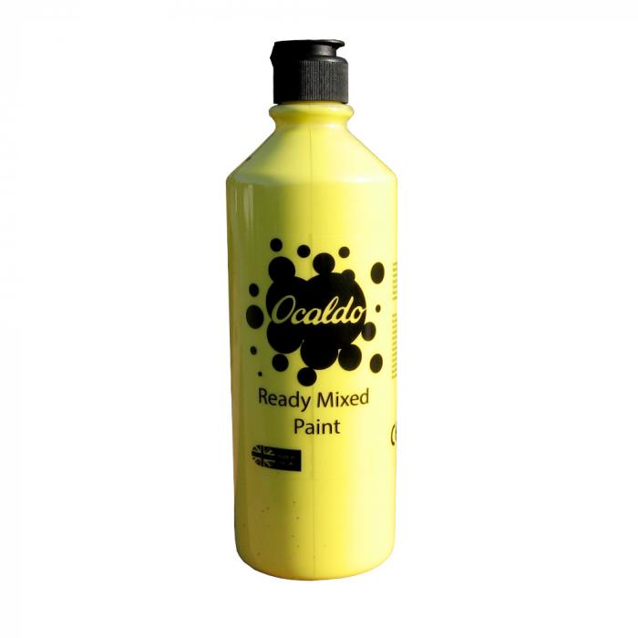 Tempera 600 ml galben primrose, Ocaldo 0