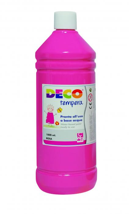 Tempera DECO 1000 ml roz [0]