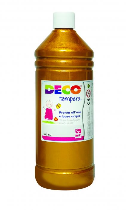 Tempera DECO 500 ml auriu [0]
