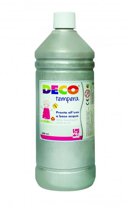 Tempera DECO 500 ml argintiu [0]