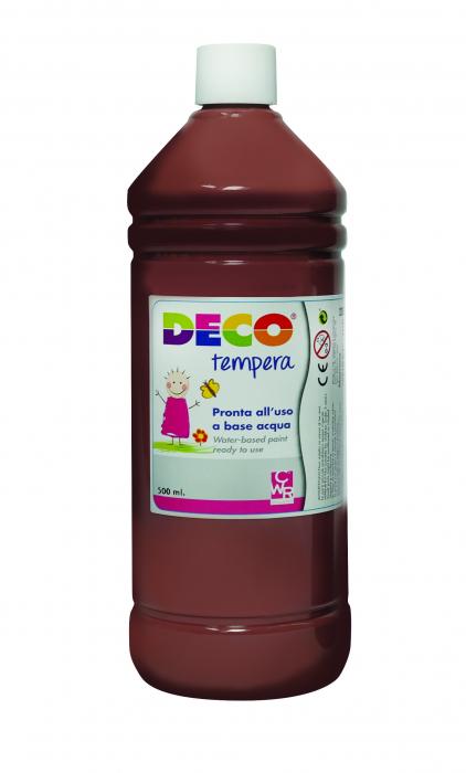 Tempera DECO 500 ml maro [0]