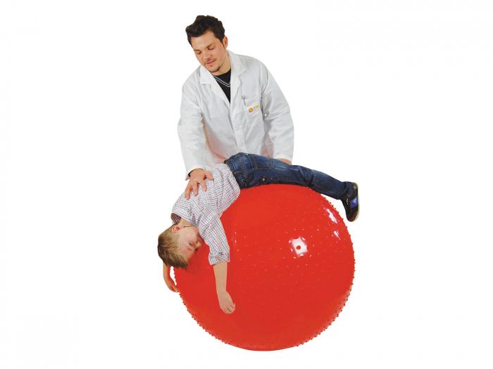 Minge fizioterapeutică Therasensory cu noduli de masaj 100-roșu [1]