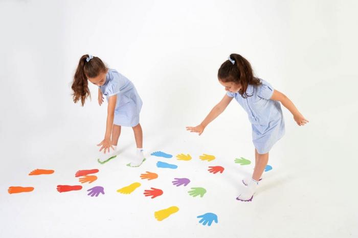 Urme de maini - joc de motricitate 4