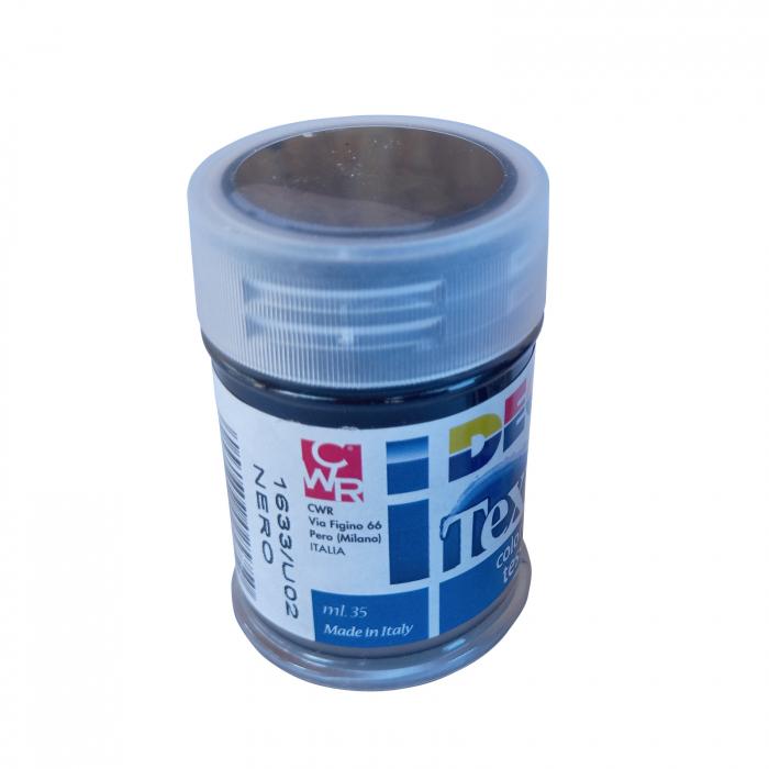 Vopsea neagră pentru material textil în flacon de 35 ml [1]