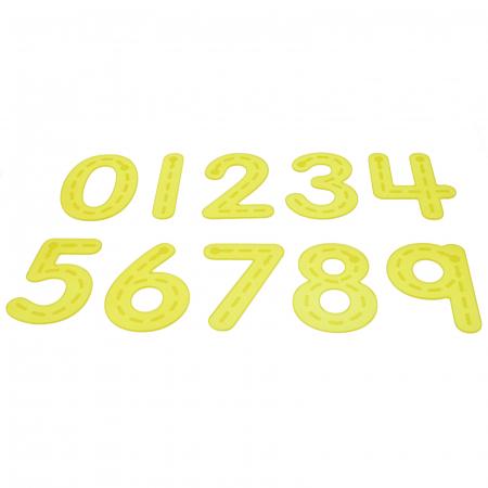 Numere amuzante galbene de trasat0