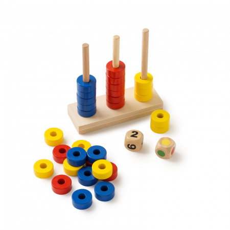 Joc de dezvoltare cognitivă, Stivuiește inelele1