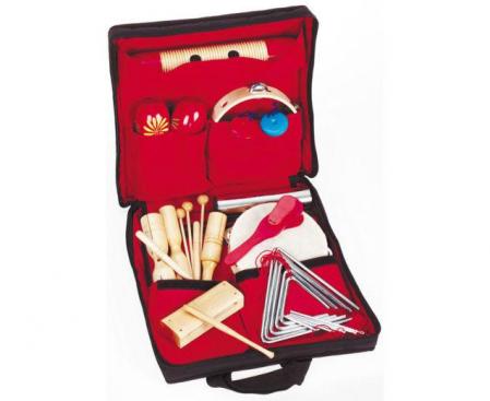 19 instrumente muzicale de joacă - set ritmicitate în sacoșă2