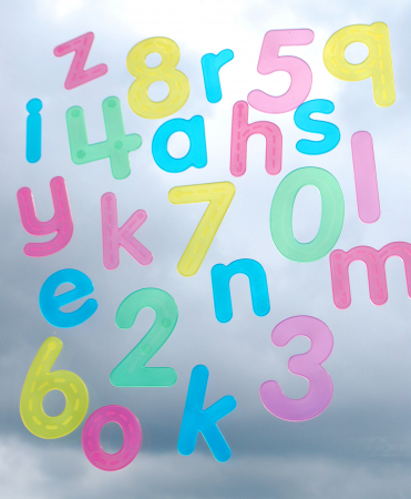 Numere amuzante verzi cu buline de trasat1
