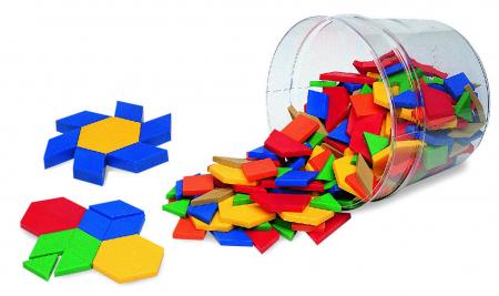 Set forme geometrice Mozaic din plastic1