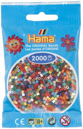 2000 margele HAMA MINI in pungulita2