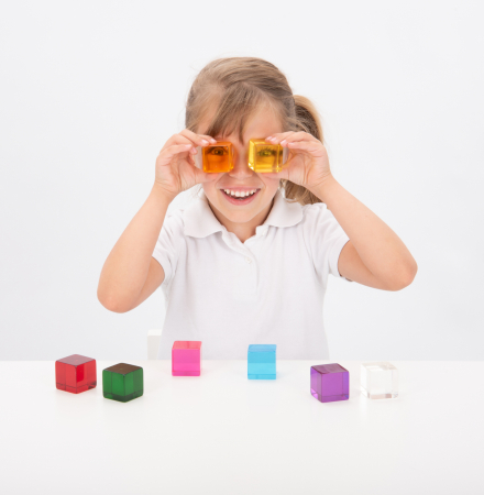 Set de 8 cuburi de percepție senzorială2