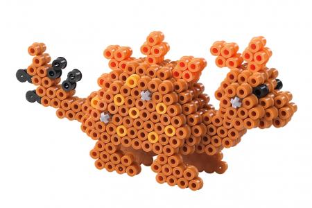 3D Dino, 4000 mărgele Hama midi în cutie [3]