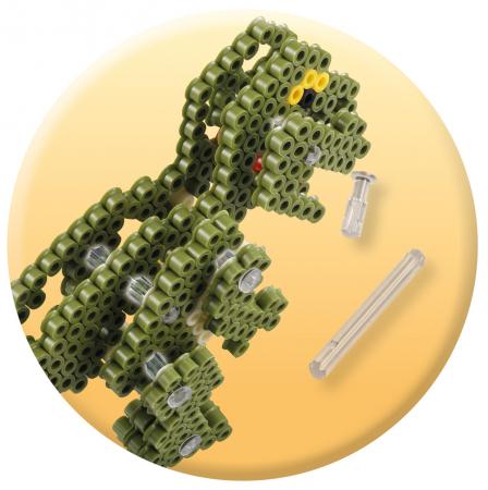 3D Dino, 4000 mărgele Hama midi în cutie [4]