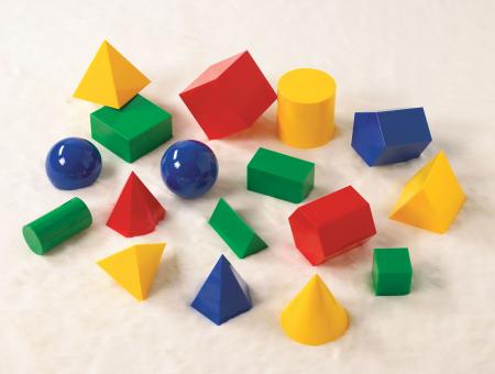 Set de 17 corpuri geometrice mari [2]