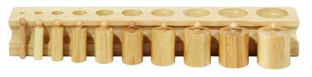 Set de 4 cilindre Montessori - Cylinder Blocks4