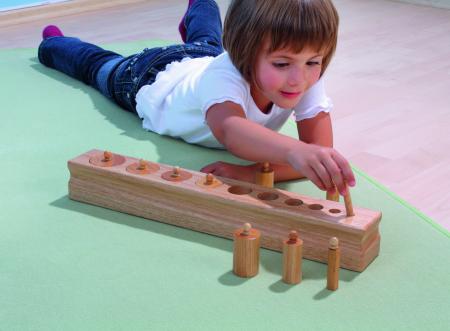 Set de 4 cilindre Montessori - Cylinder Blocks5