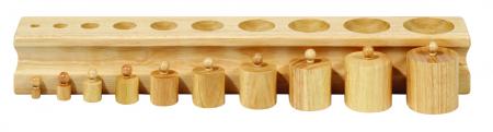 Set de 4 cilindre Montessori - Cylinder Blocks1