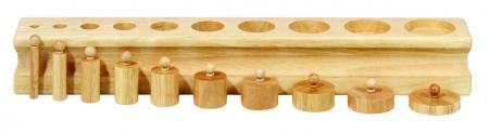 Set de 4 cilindre Montessori - Cylinder Blocks3