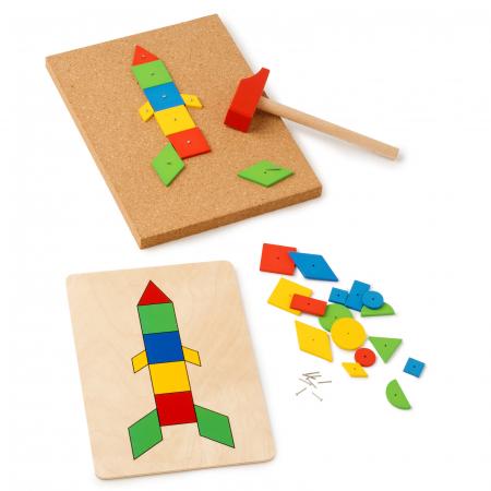 Joc de dezvoltare cognitivă și motricitate fină, Ciocănele [3]