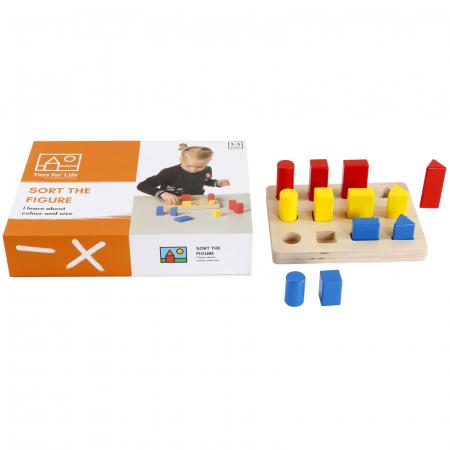 Joc de dezvoltare cognitivă, Sortarea blocurilor2