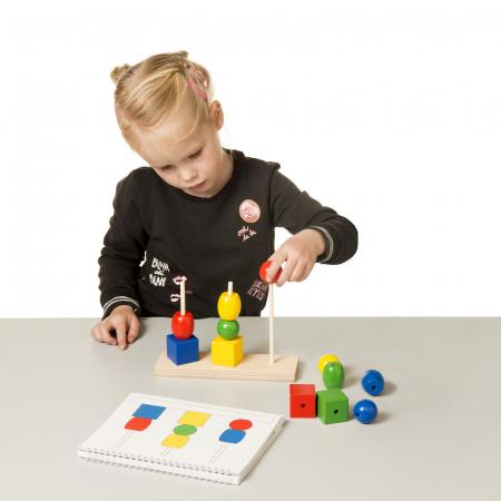 Joc de dezvoltare cognitivă, Construiește turnul2