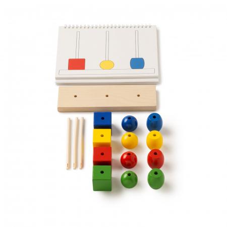 Joc de dezvoltare cognitivă, Construiește turnul0
