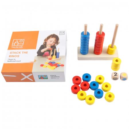 Joc de dezvoltare cognitivă, Stivuiește inelele3
