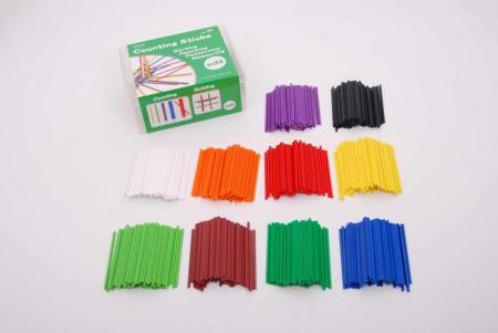 Bețișoare pentru numărat Edx Educational în cutie, set de 1000 bucăți, multicolor1