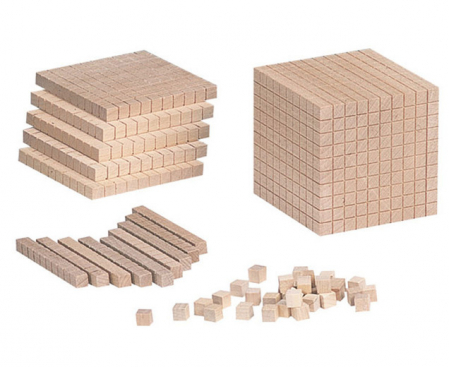 Cub - element suplimentar pentru sistemul zecimal din lemn [1]