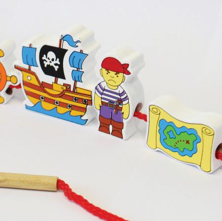 Blocuri pentru înșirat - pirați2